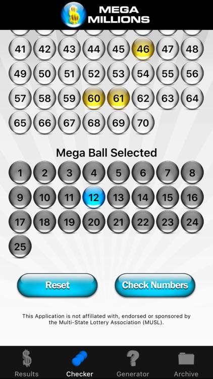 Mega Millions Lottery screenshot-3