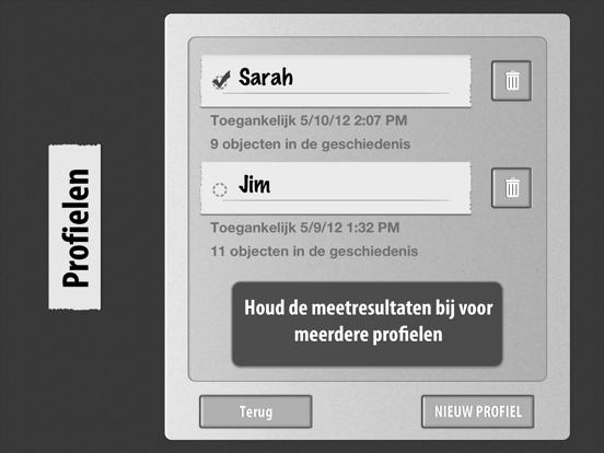 Cardiograaf Classic iPad app afbeelding 3