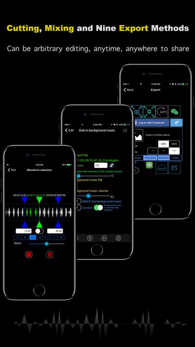 SceneRecord screenshot four