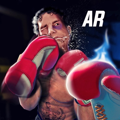 Glowing Gloves: AR Boxing Game icon