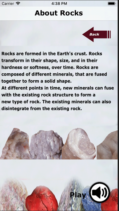 Kidz Learn Rocks screenshot 2