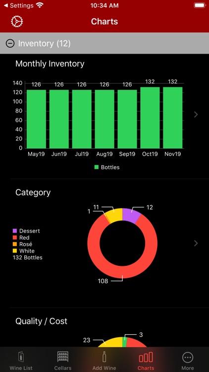 CellarView Wine Cellar Tracker screenshot-6