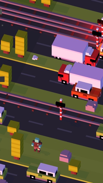 Screenshot for Crossy Road in Finland App Store