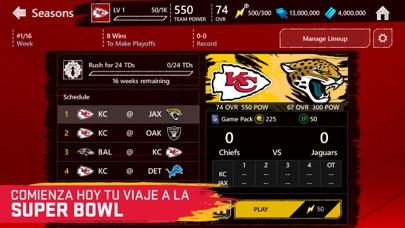Screenshot for MADDEN NFL MOBILE FOOTBALL in Spain App Store