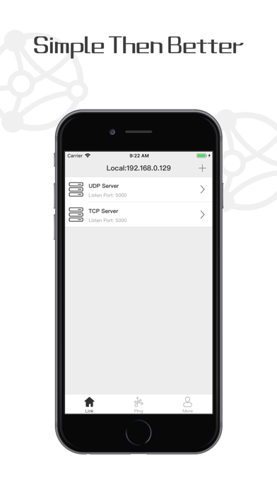 TCP UDP Terminal Ping NetTools screenshot 3