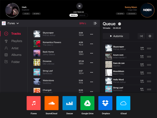 edjing 5: DJ turntable to mix and record music screenshot