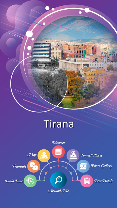 Tirana City Guide screenshot 2