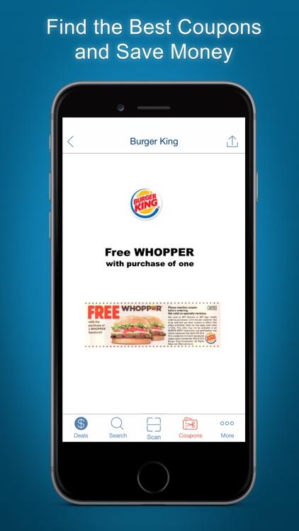 Food Coupons, Fast Food Deals screenshot-3