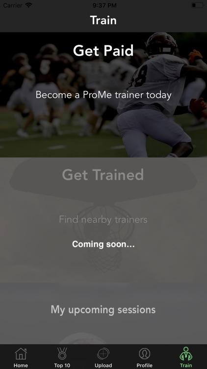 ProMe Sports screenshot-7