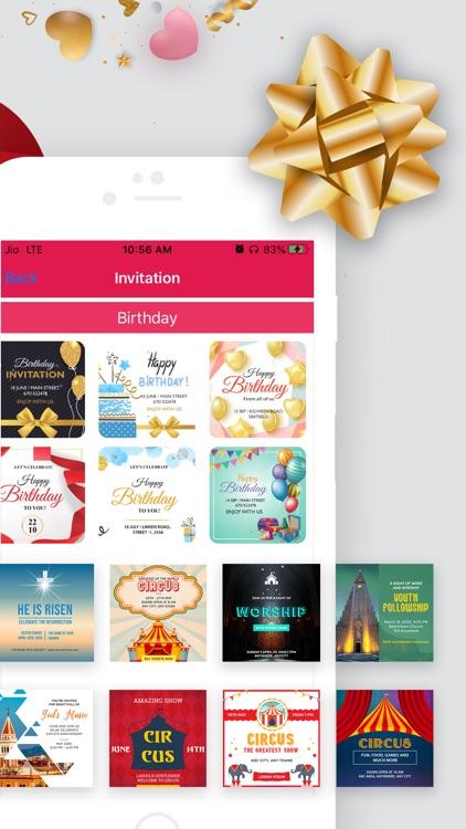 Invitation Maker Card Creator