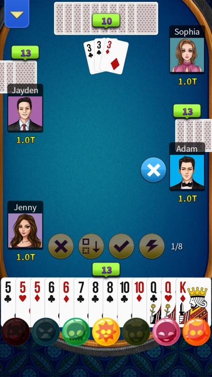 Big 2 - KK Big2 (Pusoy Dos) screenshot-5