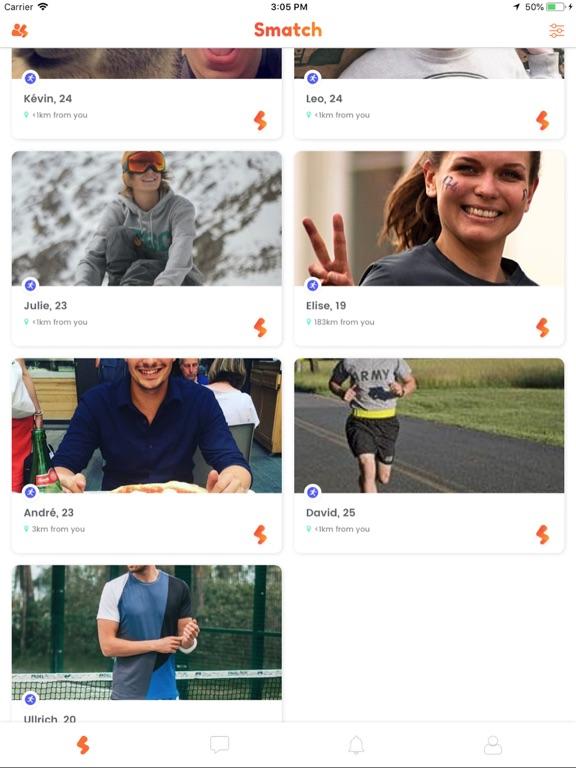 Screenshot #6 pour Smatch - Sport Buddies Around