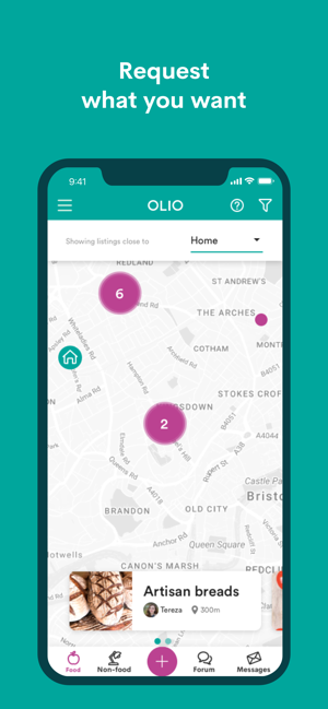‎OLIO - Food Sharing Revolution Screenshot