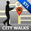 Saint Louis Map & Walks (F)