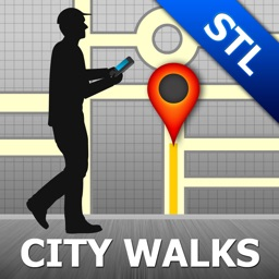 Saint Louis Map & Walks (F)