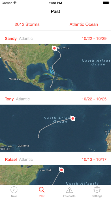 My Hurricane Tracker Pro Screenshot