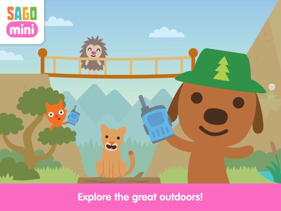 Sago Mini Camping screenshot 8
