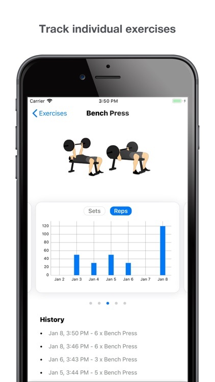 Gym Logger: Track Workouts