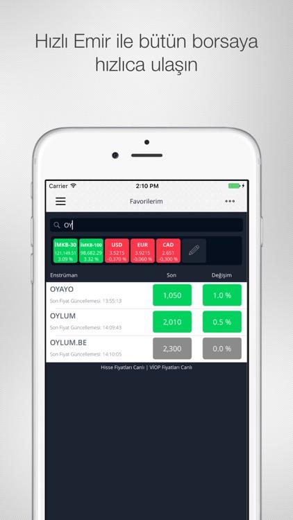 Oyak Trader screenshot-4