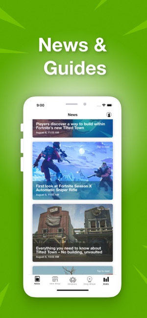 Daily Llama for Fortnite on the App Store