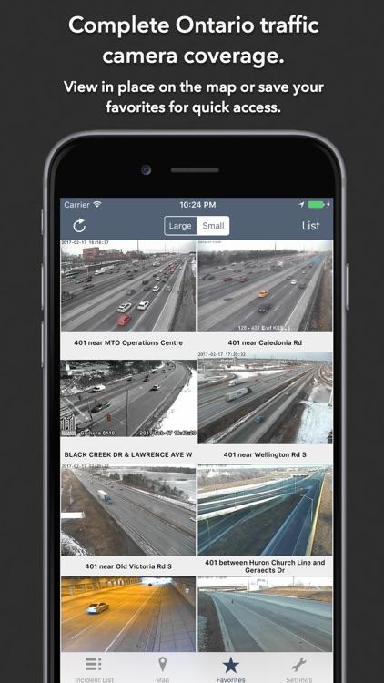 Ontario Roads Traffic screenshot-3
