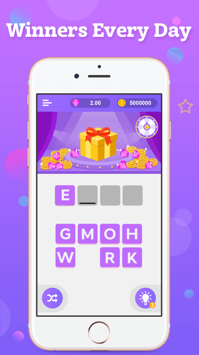 Words Luck: Search, Spin & Win Screenshot on iOS
