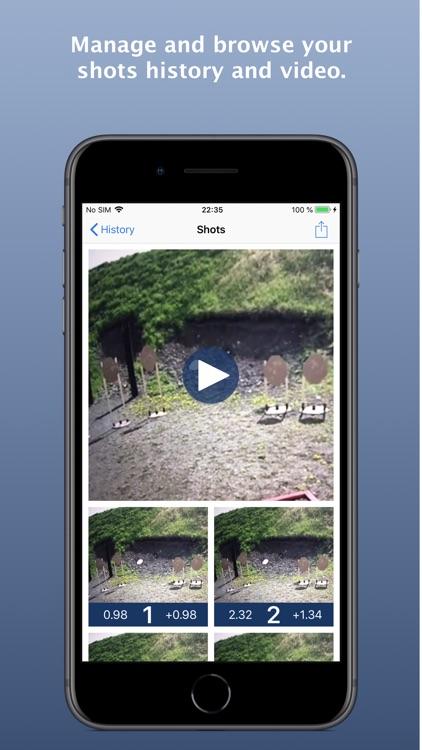ShoTi: professional shot timer screenshot-6