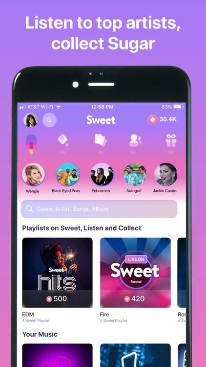 Sweet - Rewards, Music, Games screenshot-0