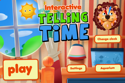 Interactive Telling Time Pro - náhled