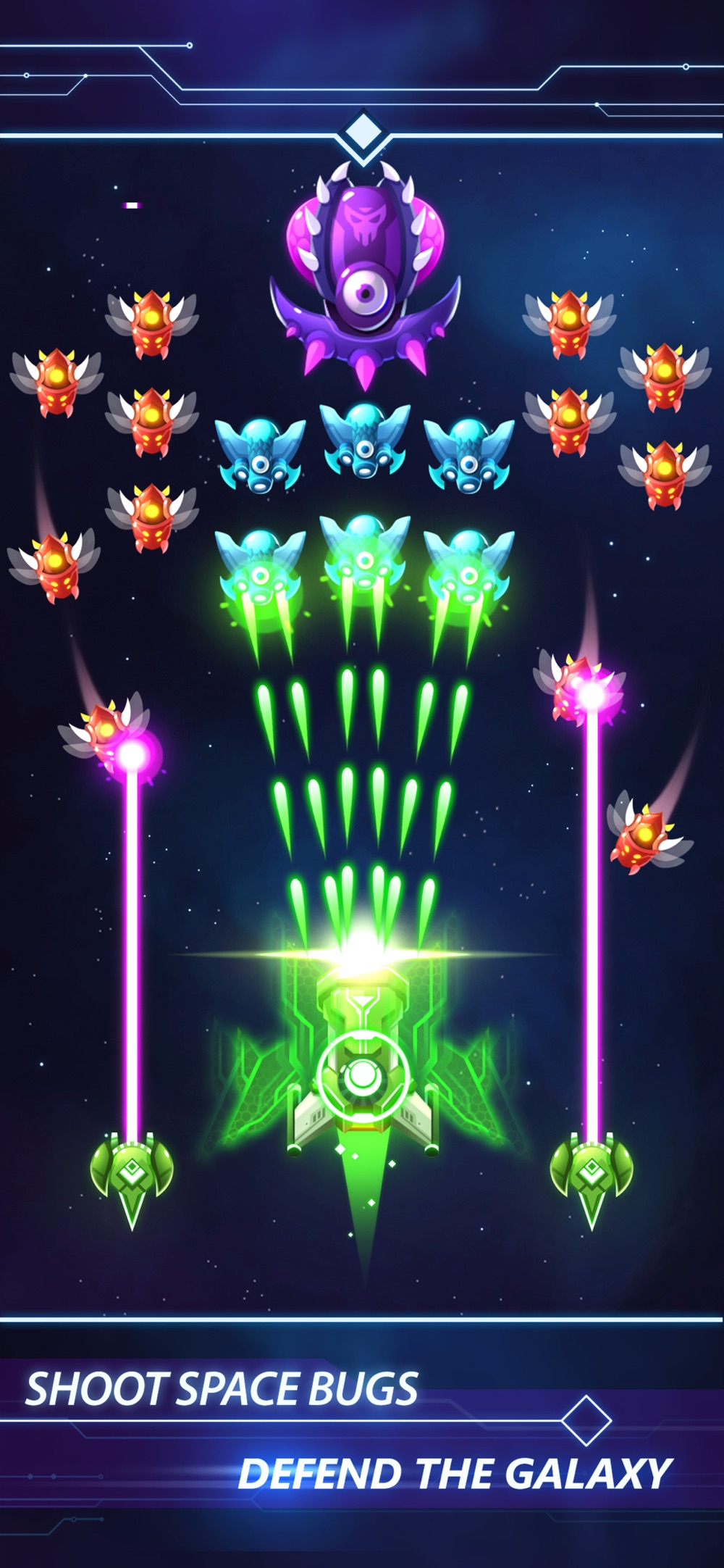 Galaxy Shooter – Strike Force Cheat Codes