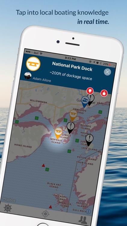 Wavve Boating-Easy Marine GPS screenshot-5