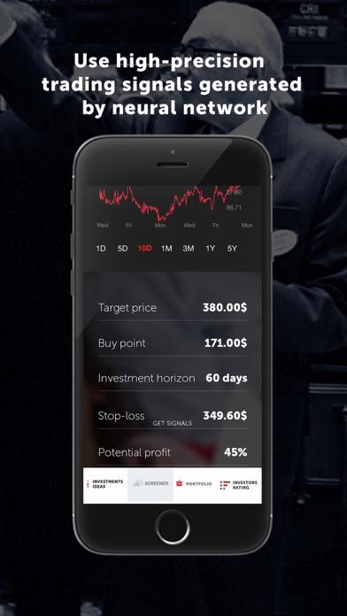 Dominant Investors App Screenshots