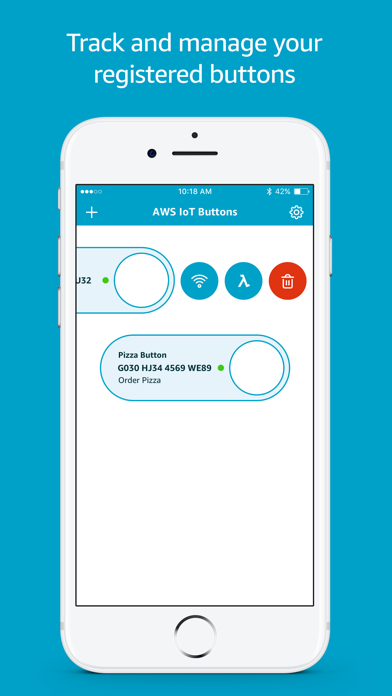 AWS IoT Button Dev - 窓用
