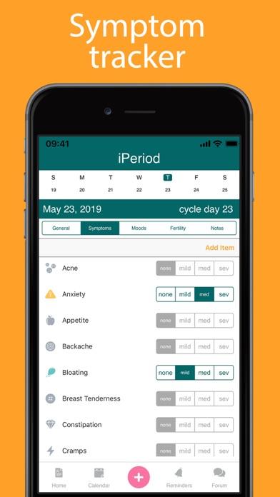 iPeriod Lite Period TrackerScreenshot of 5
