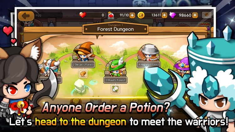 Dungeon Delivery screenshot-3