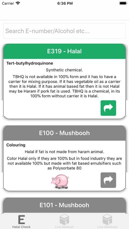 Halal Check E-Numbers