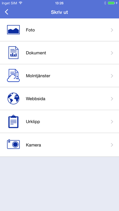 Screenshot for Brother iPrint&Scan in Sweden App Store