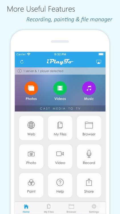 iPlayTo - Media Cast screenshot-4