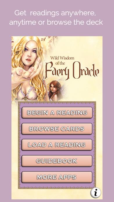 Wild Wisdom Faery Oracle screenshot 2
