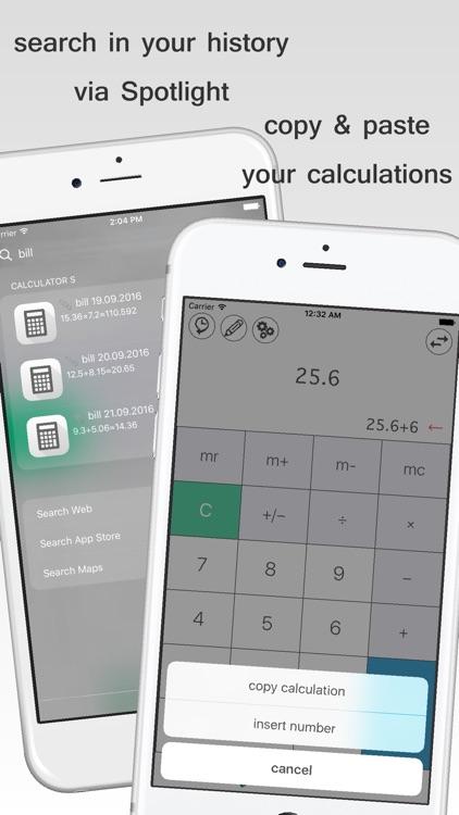 scientific Calculator S+ screenshot-3
