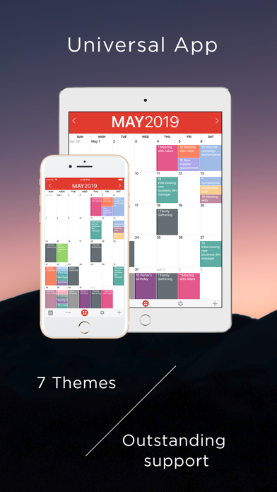 iCalendar Screenshots