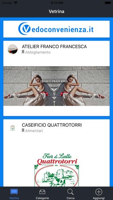 Screenshot of Vedo Convenienza1