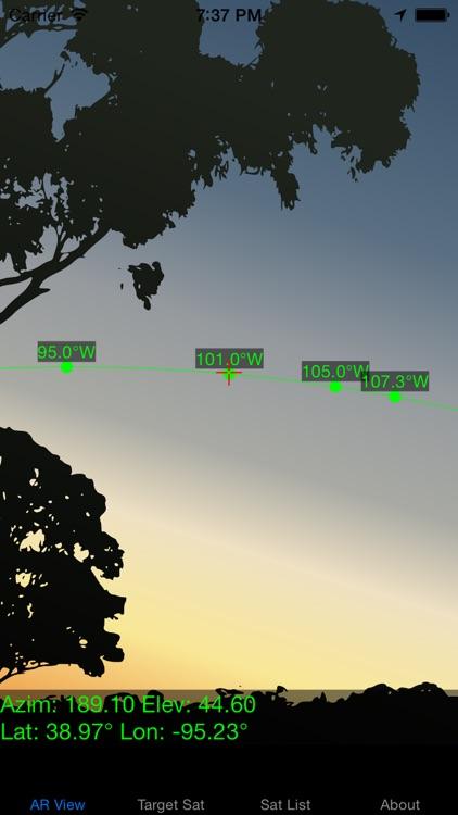SatFinder - Find TV Satellites