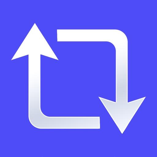 Repost · app logo