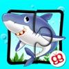 海中ジグソーバズル 123 - 子供用の言語学習ゲーム