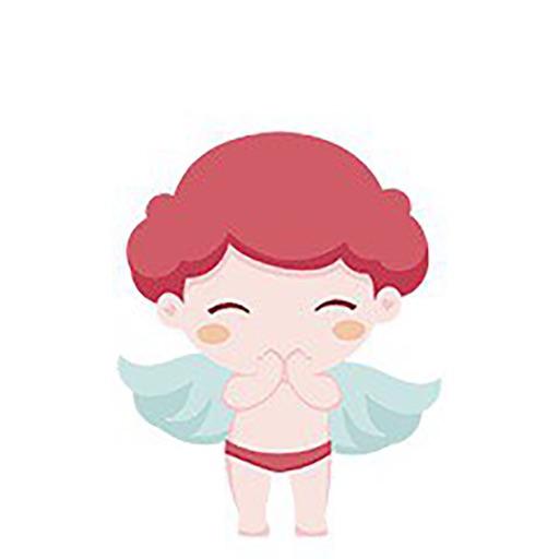 天使宝宝简单-贴纸
