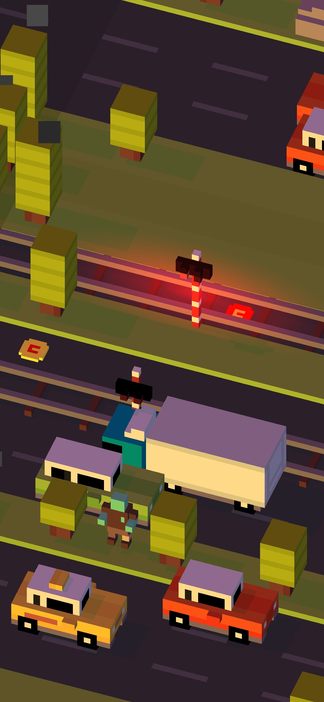Screenshot do app Crossy Road