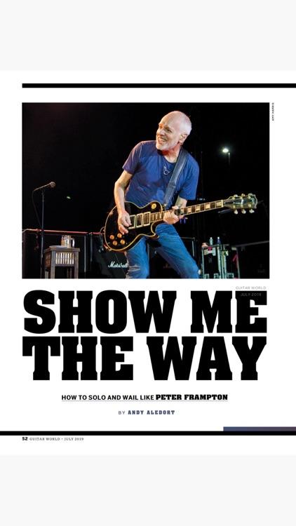 Guitar World Magazine screenshot-5