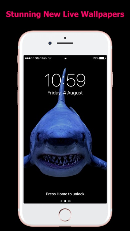 Live Wallpapers for iPhones