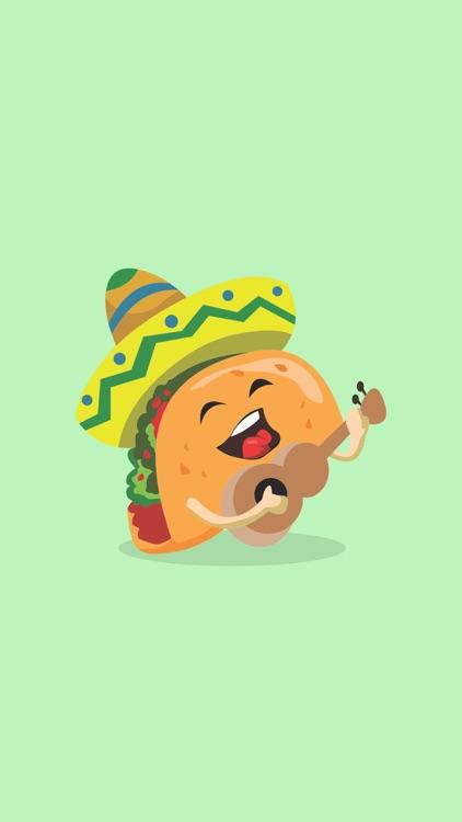 Taco Stickers